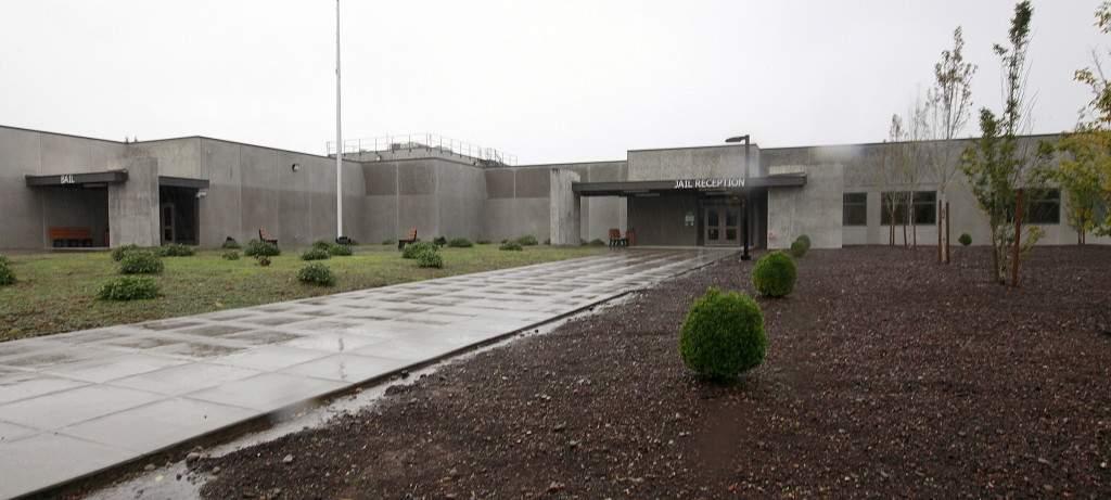 Empty Thurston County Jail
